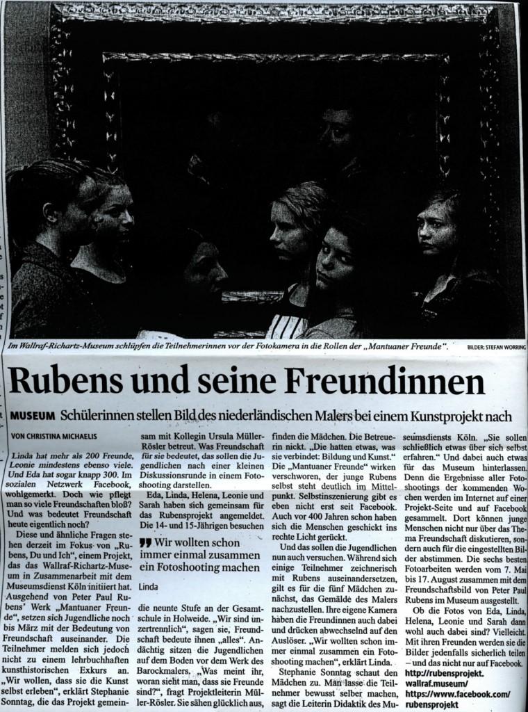 Kölner Stadtanzeiger vom 17.2.2014