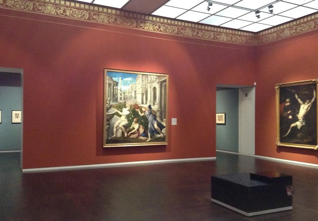 Das ist der Saal, in dem die Ausstellung sein wird