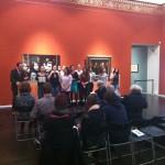 Museumsdirektor Dekiert begrüßt die Gäste