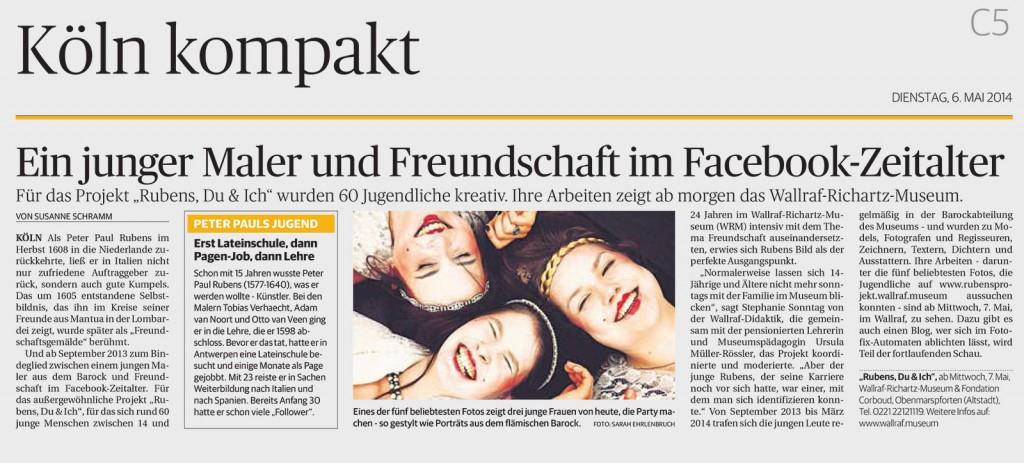 Köln Kompakt vom 6.5.2014