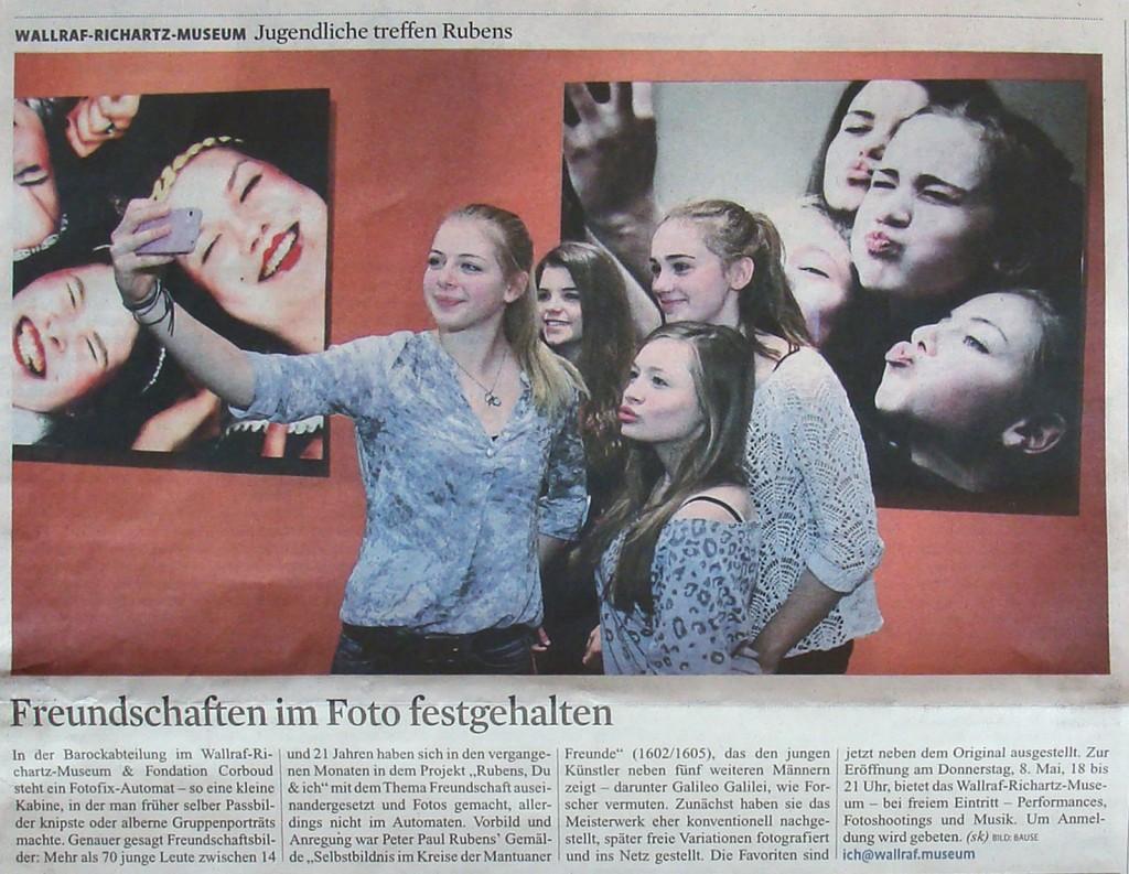 Kölner Stadt-Anzeiger 7.5.2014, S.15